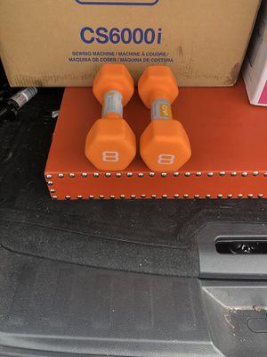 CAP 8 lb dumbbells for Sale in Washington, DC