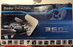 New Radar Detector 360 Full-Band Scanning for Sale in Chicago, IL