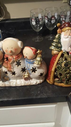 Christmas candle holders for Sale in Wichita, KS