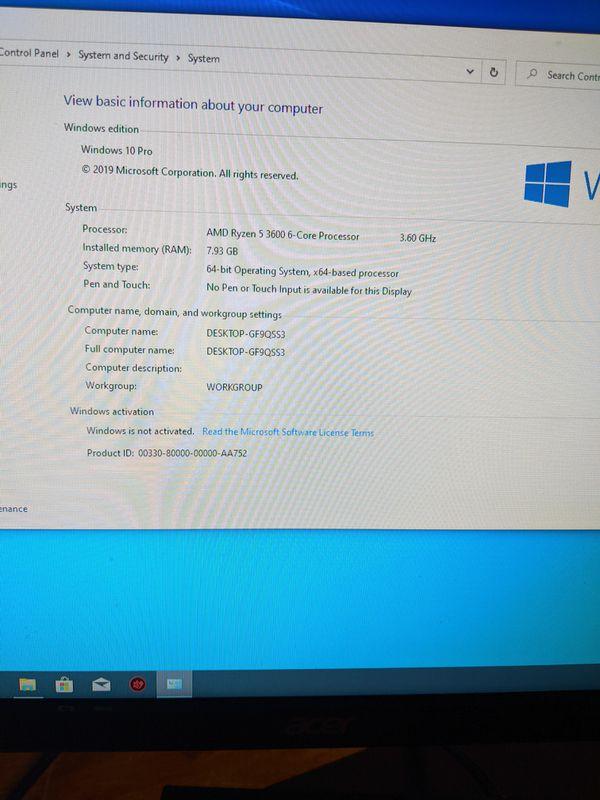 GTX 1660 TI / RYZEN 5 3600 GAMING PC BUILD HIGH END