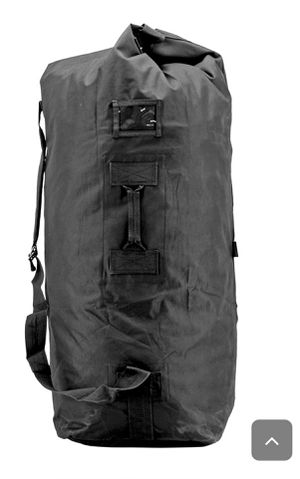 Black military tactical duffle bag for Sale in Roanoke, VA