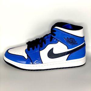 "Jordan 1 Mid ""Signal blue"" for Sale in Duluth, GA"