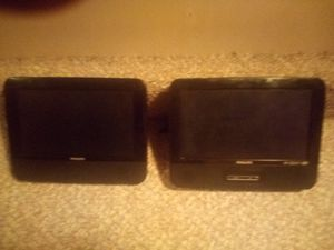 Car dvd player 2 screens by philps for Sale in Woodlake, CA