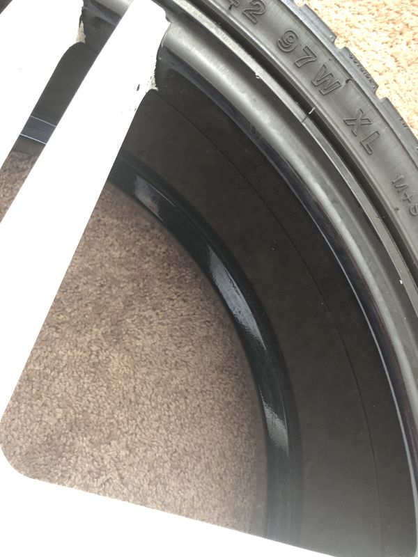 Mercedes Benz SUV tires 5 including spare tire.