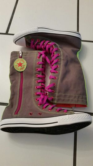 Bright Neon Converse Boots for Sale in Mount Laurel Township, NJ