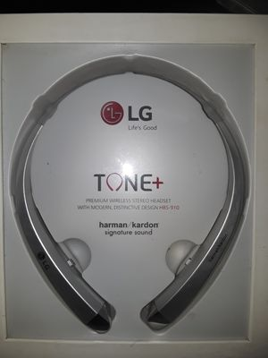 Brand new Bluetooth Retractable Wireless Earphones Headset headphones LG hbs910 for Sale in Miami, FL