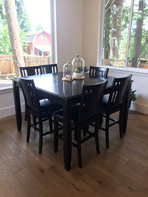 Dining table set- table with 6 chairs for Sale in Vancouver, WA