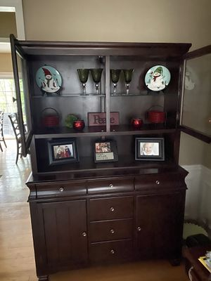 Lighted Hutch from Ashley Furniture for Sale in Suwanee, GA