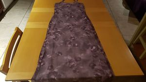 Purple spaghetti strap dress size small for Sale in Wynnewood, PA