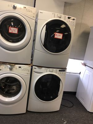 Kenmore front load washer and dryer electric set excellent conditions for Sale in Beltsville, MD