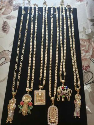 Gold Plated Chains 14K for Sale in Fresno, CA