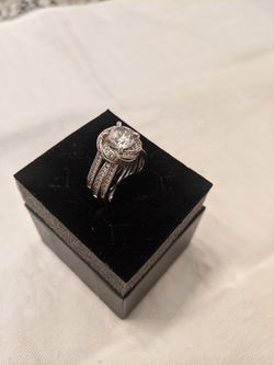 Sterling silver wedding set for Sale in Aurora,  CO