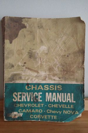 1969 Chassis Service Manual for Sale in Germantown, MD