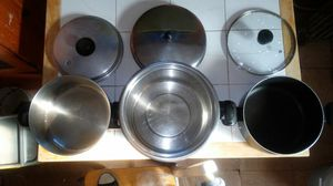 Stainless Steel Cooking Pot/Pan for Sale in Chicago, IL