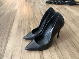Steve Madden Vala black leather heels for Sale in Tigard, OR