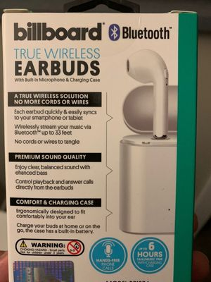Billboard Wireless Earbuds for Sale in Winchester, CA