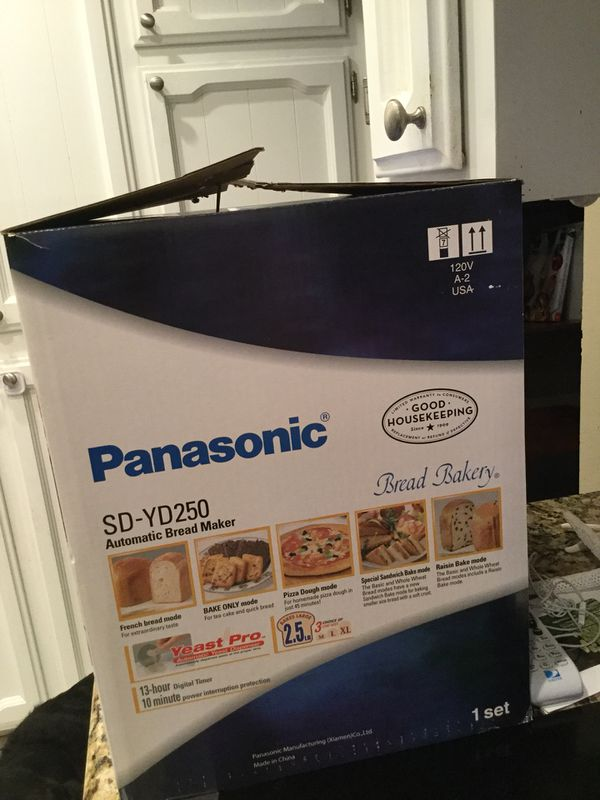 Panasonic SD YD250 Bread Maker. Never been used . $70 *retails for $149-199