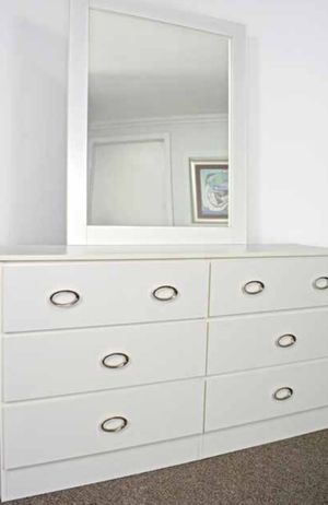 NEW SIX DRAWER DRESSER AND MIRROR AVAILABLE FOR DELIVERY for Sale in Lake Worth, FL