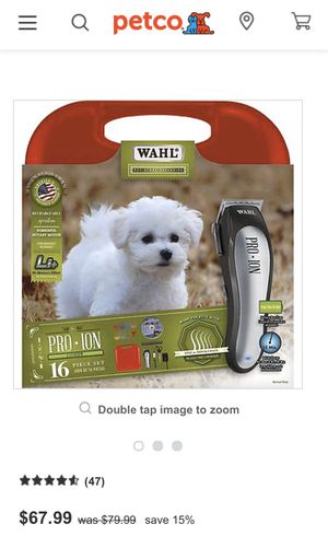 Rechargeable grooming pet clipper kit. for Sale in Richmond, CA