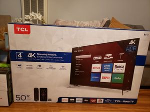 "TCL 50"" Roku 4K UHD HDR Smart TV (50S425) for Sale in Hayward, CA"