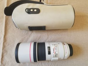 Cannon EF 300 mm 1:4 L IS lens for Sale in Pine Ridge, FL