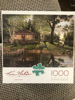 "Games Kim Norlien ""Simpler Times"" 1000 pieces zigsaw puzzle Used for Sale in Edinburgh, IN"