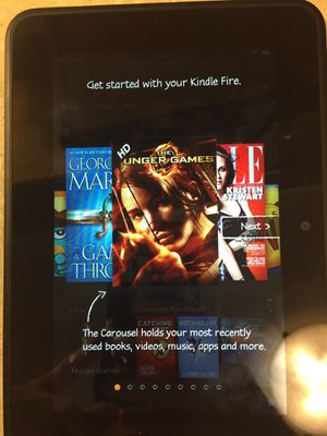 Amazon kindle fire w charger for Sale in Shorewood, WI