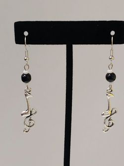 Note/Treble Clef Earrings for Sale in Waco,  TX