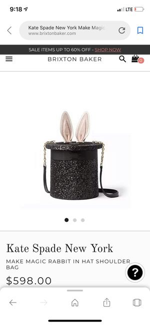 Kate spade magic rabbit in hat - NEW for Sale in Gaithersburg, MD
