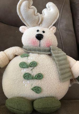 """9"""" Christmas reindeer stuffed animal $2 for Sale in Menifee, CA"""