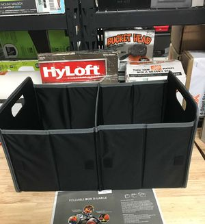 New Collapsible Foldable Box Folding Small Large X-Large Trunk Storage Tote Bin Storage box for Sale in Mesa, AZ