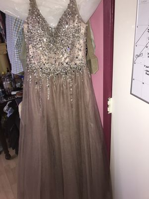 Prom Dress (Mocha color) for Sale in San Diego, CA