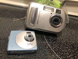 Kodak easyshare & Sipix camera for Sale in Belington, WV