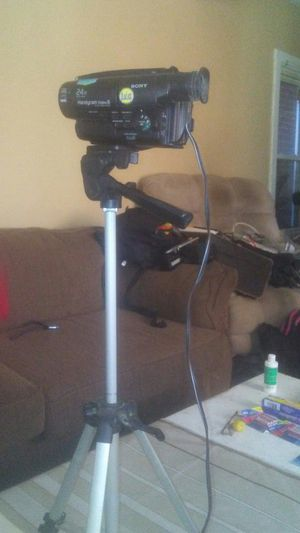 Sony digital camcorder and tripod for Sale in Trenton, NJ
