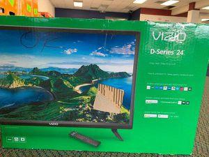 """Brand New Vizio 24"""" TV open box w/ warranty WY for Sale in Torrance, CA"""