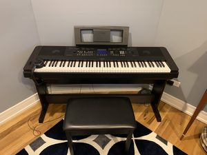 Yamaha DGX-650 Digital Piano and Accessories for Sale in Chicago, IL