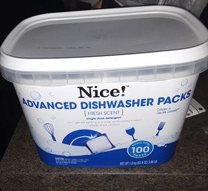 NICE! ADVANCED DISHWASHER PACKS for Sale in Charlotte, NC