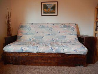 Wooden Futon Frame, Full Size for Sale in Smyrna,  TN