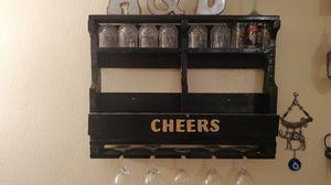 Hand made antique bottle /glass holder. for Sale in El Cajon, CA