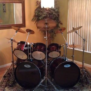 8 Piece Double Bass Drum Set for Sale in Riverview, FL