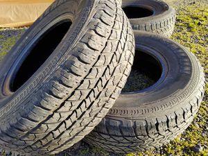 265 75 16 set truck tires for Sale in La Center, WA