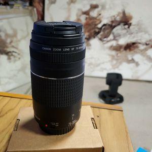 Canon ZOOM Lens 75 - 300mm for Sale in Norwalk, CA