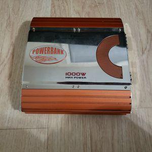 Power Bank Amplifier And Sony Xplod 1100 W Speaker.. for Sale in Hayward, CA
