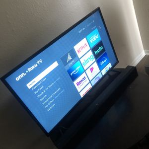 "43"" Onn Tv Smart Roku Tv. (black Friday SALE!!) for Sale in Dallas, TX"