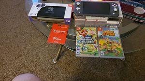 Nintendo switch bundle LIGHT READ for Sale in Genesee charter Township, MI