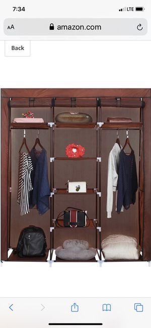 9 spot wardrobe closet organizer for Sale in Bakersfield, CA