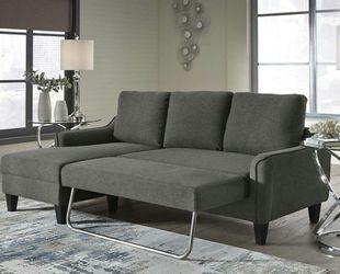 Jarreau Gray Sofa Chaise Sleeper for Sale in Houston,  TX