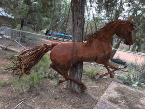 Life-size artistic creation of a majestic horse for Sale in Payson, AZ