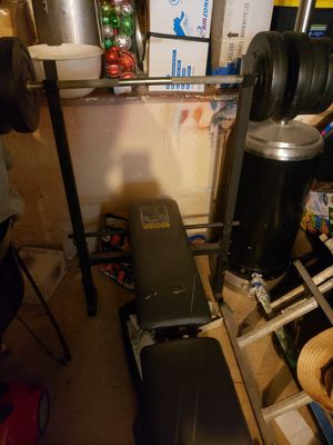 Weight Bench/ Weights for Sale in Los Angeles, CA