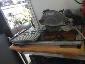 Table saw -RIDGID used good condition for Sale in Detroit, MI